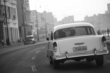 Malecon, Havana, Cuba van Frans Bouvy