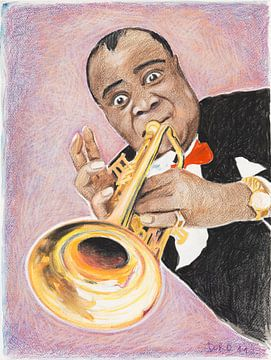 Louis Armstrong sur Dorothea Linke