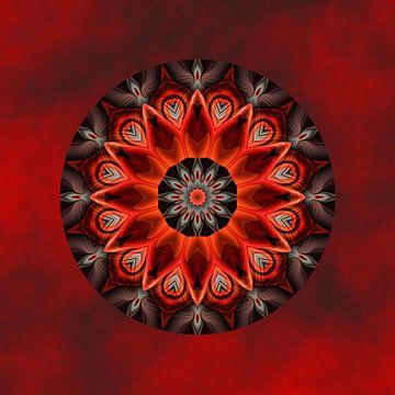 Mandala gloeiende passie van Christine Bässler