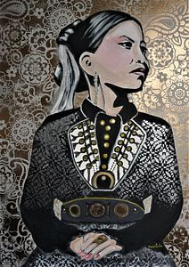 Folklore Mädchen von Marielistic-Art