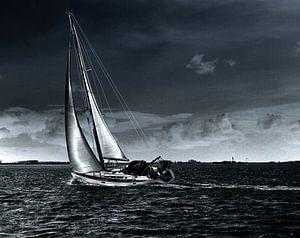 Sailing home van Abra van Vossen