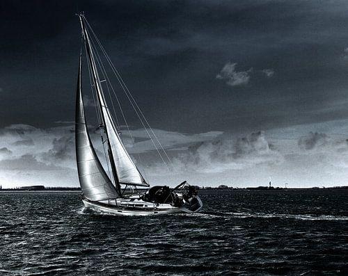 Sailing home von Abra van Vossen