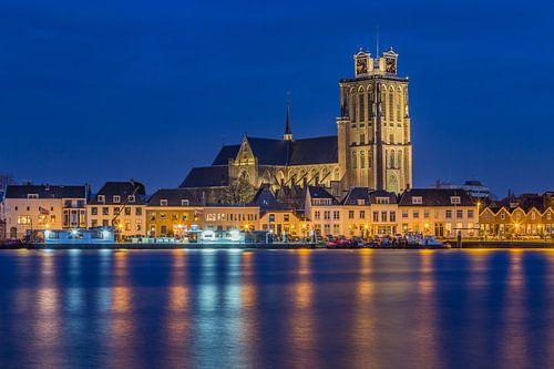 Skyline van Dordrecht met de Grote Kerk - 1 van