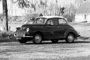Morris classic car van