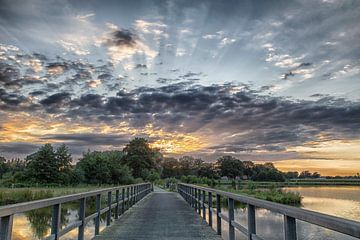 Sonnenuntergang von Toon Tijink
