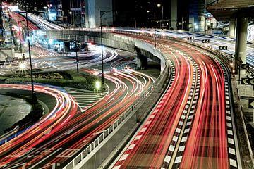 Chaotische verkeer, Koji Tajima van 1x