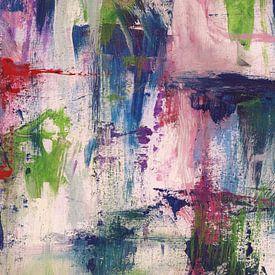 Abstracte samenstelling 1112 van Angel Estevez