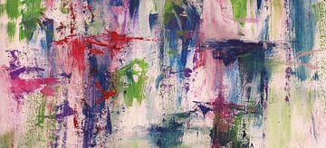Abstrakte Komposition 1112 von Angel Estevez