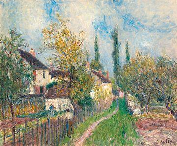 Ein Weg am Les Sablons, Alfred Sisley