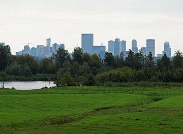 Skyline van Rotterdam van Rinke Velds