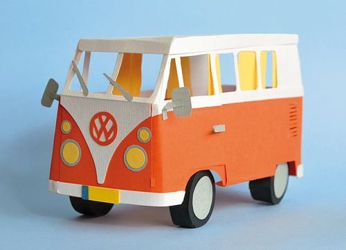 Volkswagen busje von Lonneke Leever