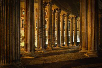 Alter Säulengang von Sabine Wagner