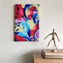 Klantfoto: De natuur is sterk van ART Eva Maria, op canvas