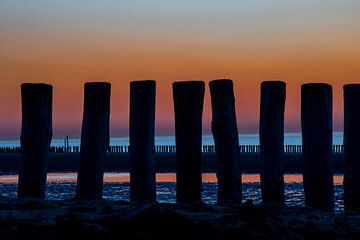 Abendkühle am Meer von Gelein Jansen