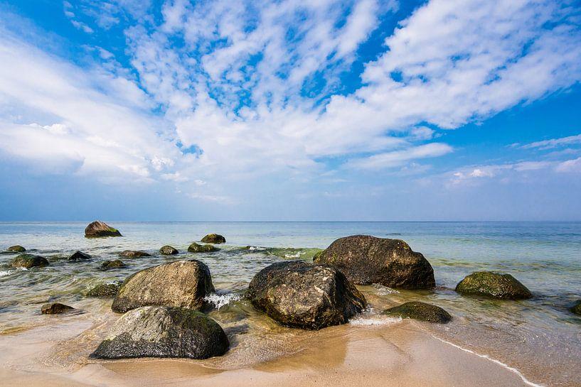 Baltic Sea coast van Rico Ködder