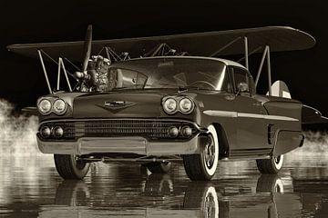 Chevrolet Impala Special Sports Coupé von 1958 ein sportliches Familienauto von Jan Keteleer