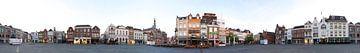 360 Panorama Bossche Markt II von Leo van Valkenburg