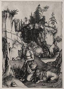 Der heilige Hieronymus in der Buße, Albrecht Dürer