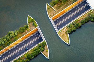 Aquaduct N302 bij Harderwijk van Original Mostert Photography