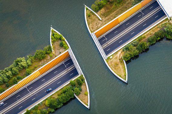 Dutch Aquaduct N302 at Harderwijk