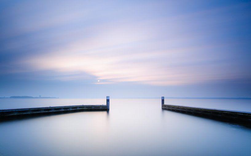 rust aan het water.. van Arjan Keers