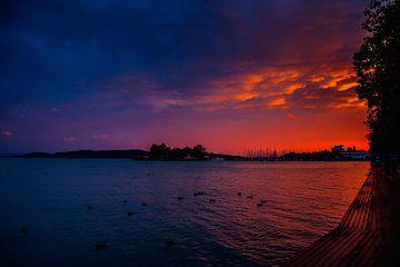 Zonsondergang van Stedom Fotografie
