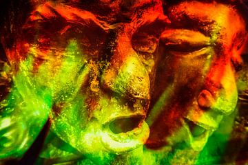 Verzerrte Gesichter von Studio Kunsthart