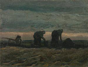 Women on the Peat Moor, Vincent van Gogh