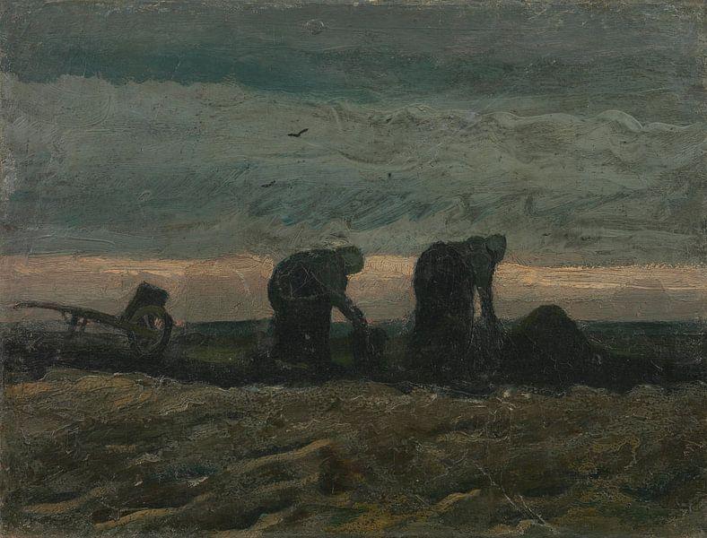 Women on the Peat Moor, Vincent van Gogh von Meesterlijcke Meesters