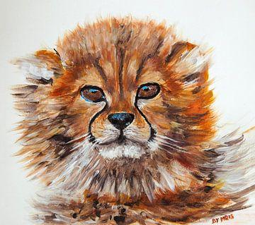 Cute Cheetah Cub van Eye to Eye Xperience By Mris & Fred