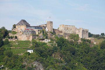 Kasteel Rheinfels, St. Goar, Unesco-werelderfgoed Boven-Midden-Rijndal, Rijnland-Palts, Duitsland van Torsten Krüger