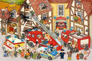 Brandweer in mijn dorp