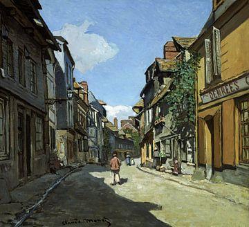 Rue de la Bavole, Honfleur, Claude Monet