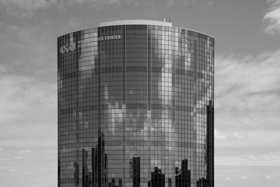 Het WTC Rotterdam tijdens de Dakendagen in Rotterdam van MS Fotografie