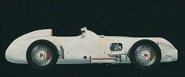 Mercedes W196 Zilveren Pijl 1954