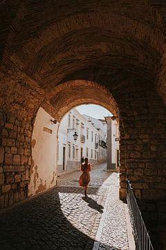 Arco da Villa, Faro stad. Algarve, Portugal