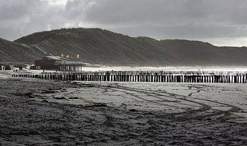 Pavillon de plage Zeeuwse Rivièra sur MSP Canvas