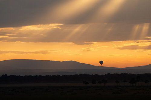 morning has broken in Masai Mara van