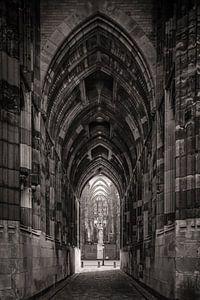 De doorgang onder de domtoren in Utrecht. One2expose Wout Kok Photography
