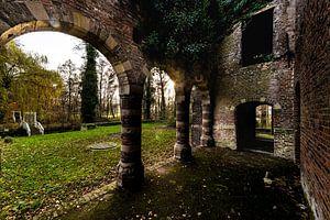 Urban Ruins In Holland.