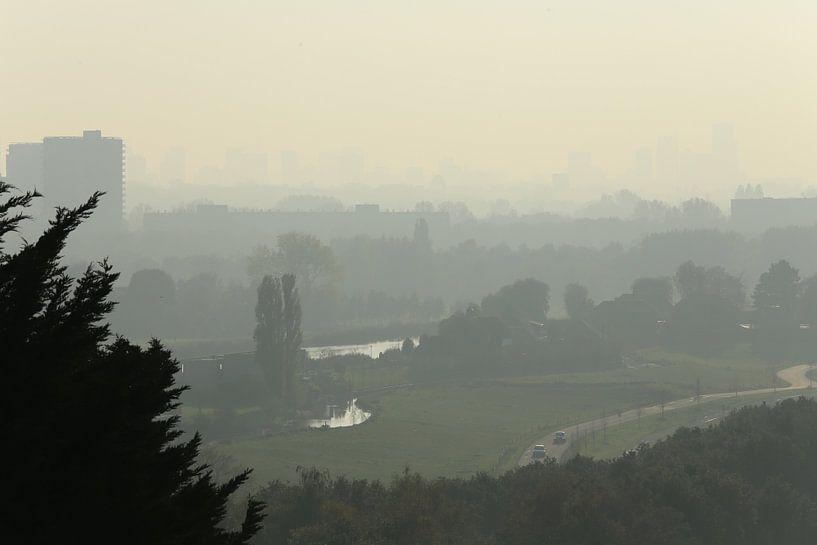 Rotterdam skyline van maron branderhorst