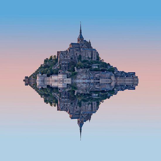 Mont Saint Michel van Rene Ladenius