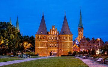 Holstentor, Lübeck, Allemagne sur Adelheid Smitt