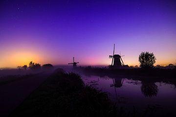 Molens bij Kinderdijk van Dirk van Egmond