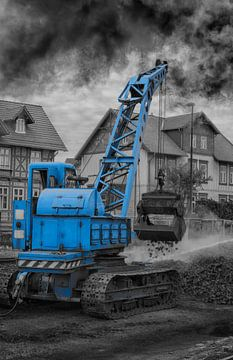 crane for coal loading steam locomotive