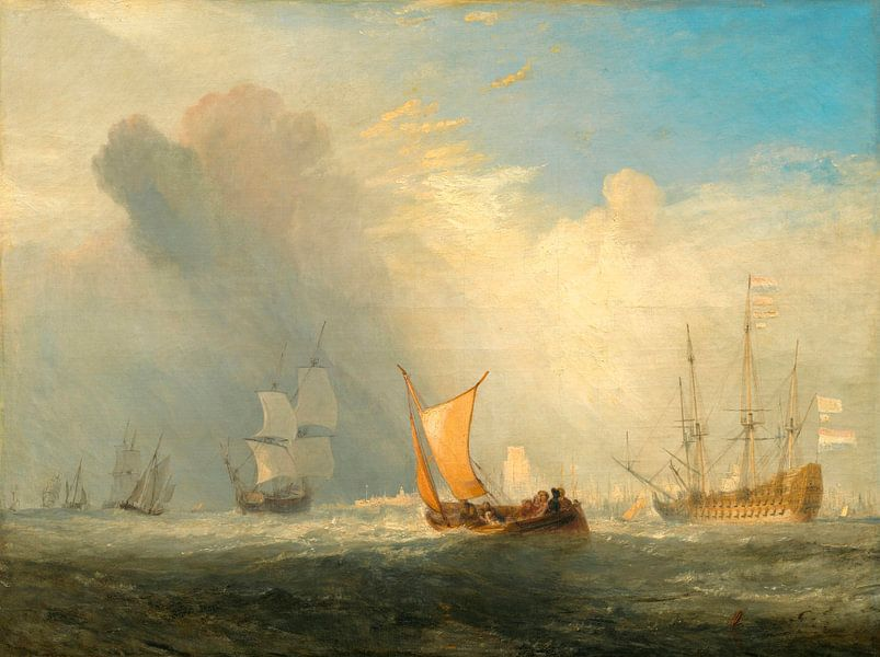 Ferry-boat de Rotterdam, William Turner sur Meesterlijcke Meesters
