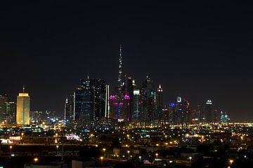 Dubai skyline von Nicole Wetzels
