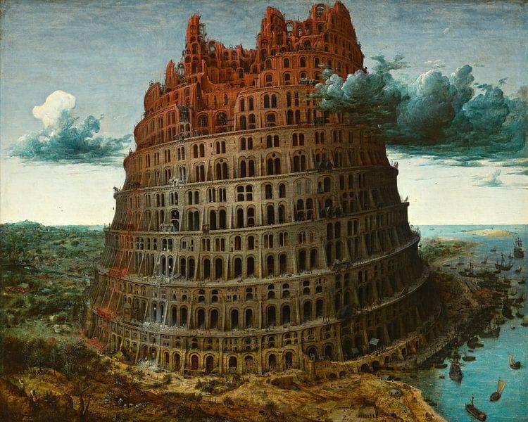 The Tower of Babel (Rotterdam), Pieter Bruegel the Elder sur Meesterlijcke Meesters