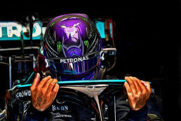 Sir Lewis Hamilton 2021 van DeVerviers