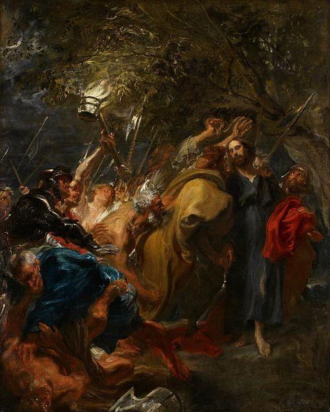 Der Verrat an Christus, Anthony van Dyck von Meesterlijcke Meesters